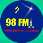 Logo da emissora R�dio Princesinha da Serra 98.7 FM