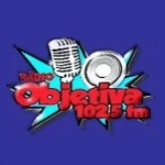 Logo da emissora Rádio Objetiva 102.5 FM