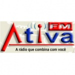 Logo da emissora R�dio Ativa 104.9 FM