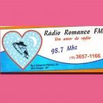 Logo da emissora Rádio Romance 98.7 FM