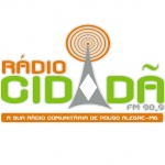 Logo da emissora Rádio Cidadã 90.9 FM