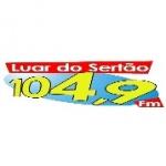 Logo da emissora Rádio Luar Do Sertão 104.9 FM