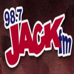 Logo da emissora KPRF 98.7 FM
