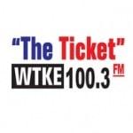 Logo da emissora WTKE 1490 AM - 100.3 FM