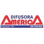 Logo da emissora R�dio Difusora Am�rica 1140 AM