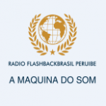 Logo da emissora Rádio Flashback Brasil de Peruíbe