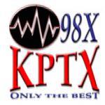 Logo da emissora KPTX 98.3 FM