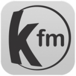 Logo da emissora Rádio Kboing 100.3 FM