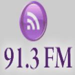 Logo da emissora KPVU 91.3 FM
