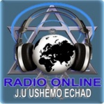 Logo da emissora R�dio Ushemo Echad