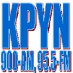 Logo da emissora KPYN 900 AM