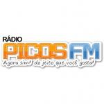 Logo da emissora R�dio Picos FM