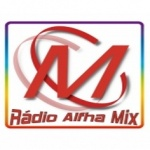 Logo da emissora Rádio Alfha Mix