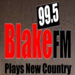 Logo da emissora KQBR 99.5 FM