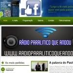Logo da emissora Web R�dio Paral�tico Que Andou