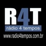 Logo da emissora Rádio 4 Tempos