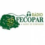 Logo da emissora Rádio Fecopar