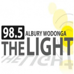 Logo da emissora The Light 98.5 FM