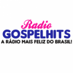 Logo da emissora Rádio Gospel Hits Web