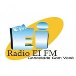 Logo da emissora Rádio Ei FM