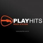 Logo da emissora R�dio Play Hits