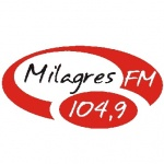 Logo da emissora Rádio Milagres 104.9 FM