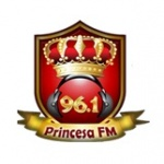 Logo da emissora R�dio Princesa FM