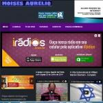 Logo da emissora Móisés Aurélio