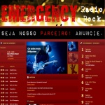 Logo da emissora Emergency Radio Rock
