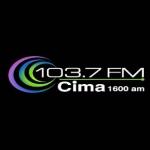 Logo da emissora WCMA 103.7 FM Cima