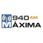 Logo da emissora WIPR 940 AM Maxima