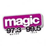 Logo da emissora Radio Magic 97.3 FM