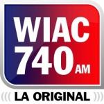 Logo da emissora WIAC 740 AM