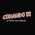 Logo da emissora Comando 88.5 FM