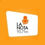 Logo da emissora La Nota Diferente 95.7 FM