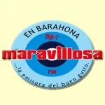 Logo da emissora Maravillosa 89.7 FM
