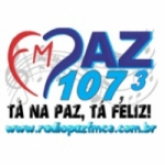 Logo da emissora Rádio Paz FM 107.3