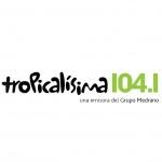 Logo da emissora Tropicalisima 104.1 FM