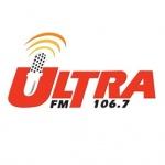 Logo da emissora Ultra 106.7 FM