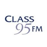 Logo da emissora Class 95 FM