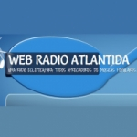 Logo da emissora Atlântida de Curitiba