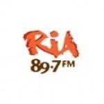 Logo da emissora Ria 89.7 FM