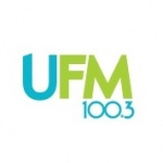 Logo da emissora UFM 100.3 FM