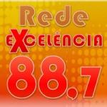 Logo da emissora Rede Excelência FM 88.7