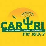 Logo da emissora Radio Cariri 103.7 FM