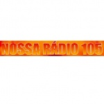 Logo da emissora R�dio Nossa R�dio 105.9 FM