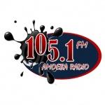 Logo da emissora Amoeba 105.1 FM