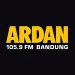 Logo da emissora Ardan 105.9 FM