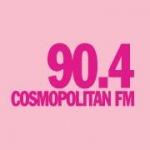 Logo da emissora Cosmopolitan 90.4 FM