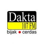 Logo da emissora Dakta 107 FM